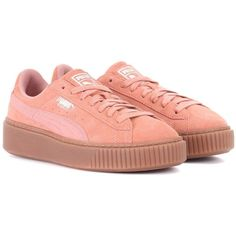e72e57746e7e Puma Basket Platform Suede Sneakers (2.015 ARS) ❤ liked on Polyvore  featuring shoes
