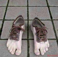 BareFOOT shoes....????? LOL!!!!!