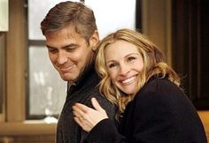 George Clooney and Julia Roberts- They should be married