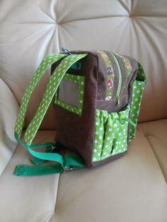 lillesol & pelle Schnittmuster/ pattern: Kindergartenrucksack Rudi