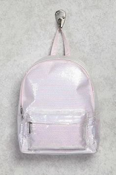 Forever 21 Sequin Zip Backpack
