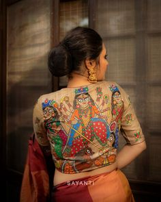 Amp up your Durga Puja wardrobe these statement designer blouses! Durga Puja, Saree Blouse Designs, Sari, Blouses, Dresses, Fashion, Saree, Vestidos, Moda