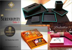 Look for Proleather Home and office Elite Leather Accessories at Serendipity Take 5 at DLF Magnolias