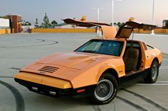 The Bricklin SV-1. 1974 -1976 Due to Bricklin's lack of experience in the auto industry, coupled with the funding problems, the Bricklin factory was not able to produce vehicles fast enough to make a profit. As a result, only 2854 cars were built before the company went into receivership, owing the New Brunswick government 23 million dollars.The Bricklin is the only production vehicle in automotive history to have powered gull-wing doors  and was the obvious basis for the later DeLorean…