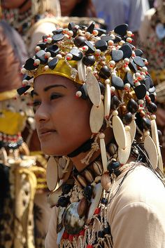 **Traditional dress from Sinulog Festival.  Philippines.  Photo by B.C. Radke