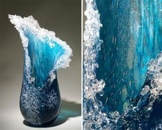 These Californian Artists Make Amazing Wave Sculptures Out Of Glass - Cooler