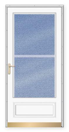 Andersen - Storm Doors - Traditional Deluxe Dual Vent ¾ Lite Storm Door  sc 1 st  Pinterest & A.J. Manufacturing 36\