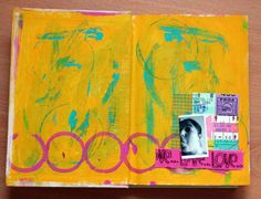 Art journal first page | Flickr - Photo Sharing!