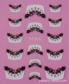 2 Sheet nail stickers 3D nail stickers nail stickers nail stickers French XF805♦️ SMS - F A S H I O N 💢👉🏿 http://www.sms.hr/products/2-sheet-nail-stickers-3d-nail-stickers-nail-stickers-nail-stickers-french-xf805/ US $0.34
