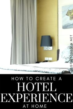 Travelers go on vacations to see the world and to experience some of the best luxury hotel accommodations. But there's no need to spend a ton of money when you can actually experience an indulgent hotel experience right in the comfort of your own home.If you're stuck at home but still want to experience a luxury hotel experience, here are some great ways to upgrade your home.