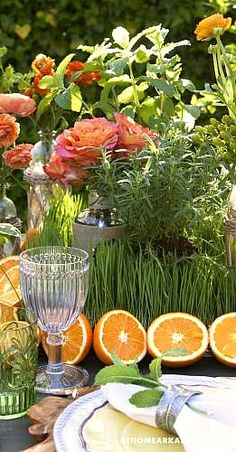 Spring table....