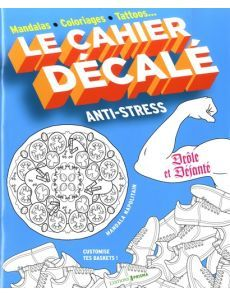 Le cahier décalé anti-stress Anti Stress, Mandala, Chart, Games, Creative Cards, Creative Crafts, Gaming, Free Books, Plays
