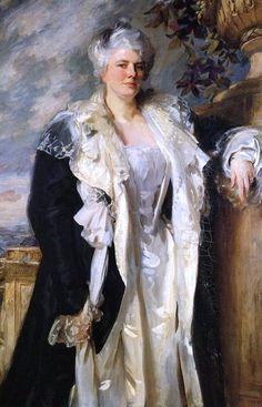 John Singer Sargent (1856 - 1925). Mrs Ernest Hills