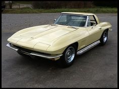 1967 Chevrolet Corvette Convertible 327/300 HP, 4-Speed, One Owner Car