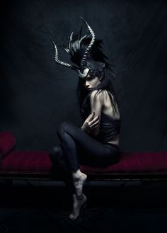 Miss G Designs - Photographer unknown - Fashion Photography - Greek Mythology - Minotaur Concept ideas                                                                                                                                                     More