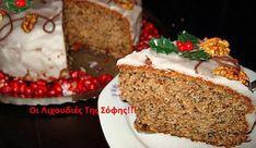 Greek Sweets, Greek Desserts, Greek Recipes, Xmas Food, Christmas Cooking, Christmas Desserts, Christmas Cakes, Christmas Recipes, Cupcakes
