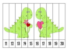 Here is a great for students to practice ordering numbers!  With these immediate feedback puzzles, students can put the numbers in order to reveal a Valentines Day related picture.  If the numbers are out of order, then the picture will not look as it should.