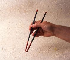A step-by-step guide on how to hold and use #chopsticks! Enjoy your #Asian food the authentic way! Follow our board http://www.pinterest.com/authenticasian/authentic-asian-food-recipes/