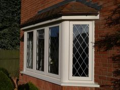 Residence 9 Grained White bay window