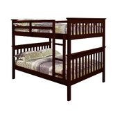 Found it at Wayfair - Full Bunk Bed with Attached Ladder
