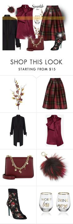 """""""Resolutions 2018"""" by rvazquez ❤ liked on Polyvore featuring Sofie D'hoore, Miss Selfridge, Ted Baker, Michael Kors, MICHAEL Michael Kors, Betsey Johnson, Mikasa, Sarah Jessica Parker, michael and contestentry"""