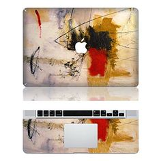 "Vati Leaves Removable Oil Painting Protective Full Cover Vinyl Art Skin Decal Sticker Cover for Apple MacBook Pro 15.4"" inch (A1286)"
