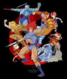 ArtStation - Thundercats, Ruben Gomez Best 80s Cartoons, Old School Cartoons, Classic Cartoons, Thundercats Cartoon, Thundercats 1985, Cartoon Shows, Cartoon Characters, Gi Joe, Saturday Morning Cartoons