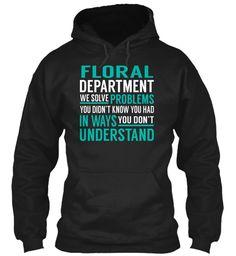 Floral Department - Solve Problems
