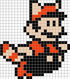 Cro Knit Inspired Creations By Mario Graphs For Crochet, Afghan Stitch, Tunisian Crochet, Knitting Crochet Afghan Stitch, Tunisian Crochet, Crochet Chart, Pixel Art Templates, Perler Bead Templates, Perler Patterns, Mario E Luigi, Mario Bros, Mario Brothers