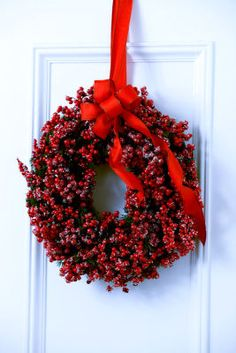 Just Add Cheer - Shortcut Chic Red Berries Wreath