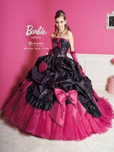 Barbie bridal (front view)