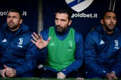 Gianluigi Buffon Left Out of Juventus Team Due to Mental State After Italy Failure Says Coach Juventus Goalkeeper, Juventus Team, Adidas Jacket, Bomber Jacket, Football Match, Genoa, Soccer, Italy, Luigi