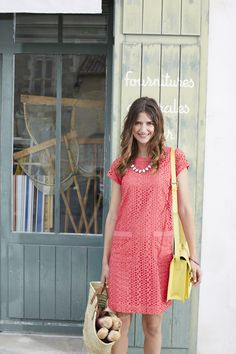 Meet the Madeline dress - perfect for the weekend. #Joules