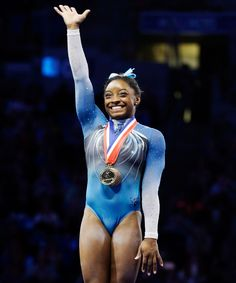 Simone Biles Incredible U.S. Championships Routine | Watch Simone Biles slay all the way to victory. #refinery29 http://www.refinery29.com/2016/06/115112/watch-simone-biles-us-championships