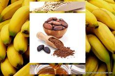 Banana-cocoa porridge