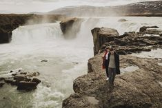 Donald and Lesley, an Icelandic Elopement, May Day three of our wedding shoot at Goðafoss and Hverir. Wedding Night, Wedding Shoot, Our Wedding, Iceland In May, Brimnes, I Got Married, Wedding Photo Inspiration, Waterfalls, Niagara Falls