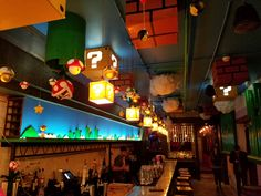 Super Mario Bros Pop Up Bar in Washington D.C.