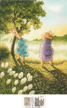 - arrived: -- inge löök - aunties no. Pictures To Paint, Art Pictures, Funny Pictures, Old Lady Humor, Nordic Art, Gravure, Funny Art, Old Women, Pretty Pictures