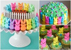 DIY Easter Peep Cakes and Desserts | www.FabArtDIY.com              #cake, #decorating, #Easter, #DIY