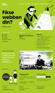 Unique Web Design, Netlife Research @noemi84 #WebDesign #Design (http://www.pinterest.com/aldenchong/)