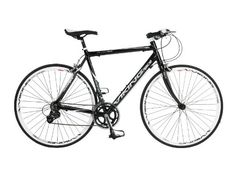 Viking Men's Treviso 700 C 16 SPD STI Flat Bar Road Bike - Black, 53 cm  Price…