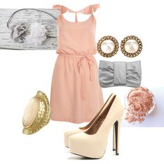Pretty in Pink, created by beminemily on Polyvore