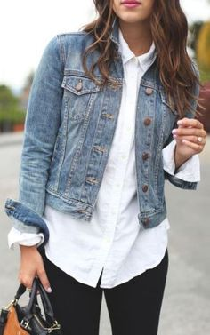 There are so many ways to wear a denim jacket because it's such a staple piece that everyone should have in their closet! Denim jackets have always been in style and probably will never go out of style! From distressed to cropped, to light-wash and dark-...