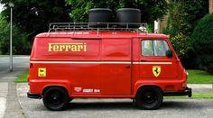 Renault Estafette F1 Ferrari 1976