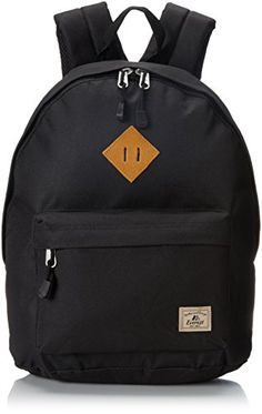 Everest Vintage Backpack, Black, One Size  Material Polyester Dimension 16  x 13 x 6 in. Capacity 940   L Weight 1 lbs   kg 285548a21c