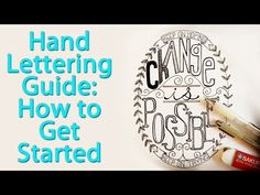 Hand Lettering: A Step By Step Guide to Layouts - YouTube ... Great video! Several from Sakura others on Hand Lettering ... have to check them out!