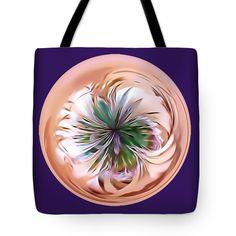 """Thistle  Tote Bag 18"""" x 18"""" by Pamela Walton"""