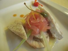Anguilla marinata con cipolla (marinade eel with onions), Ferrara, Comacchio Emilia-Romagna