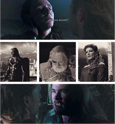 """Come home... ~ The saddest thing is that Thor genuinely LOVES Loki wholly without judgment; although, he does not understand most of his actions, he does deeply LOVE him.  <3 :""""( <3"""