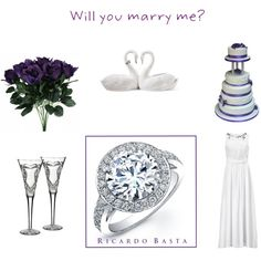 """Ricardo Basta Fine Jewelry"" by katrina-13 on Polyvore #wedding #inspiration #engagement #proposal #weddingring #diamonds #ring #jewelry #glamour #luxury #jewels #ricardobastafinejewelry #ricardobastaengagement #polyvore #collage"